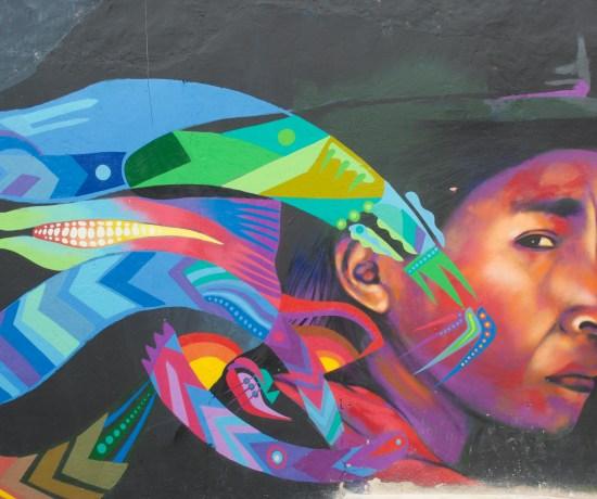 Graffiti Tour, Bogota, Colombia