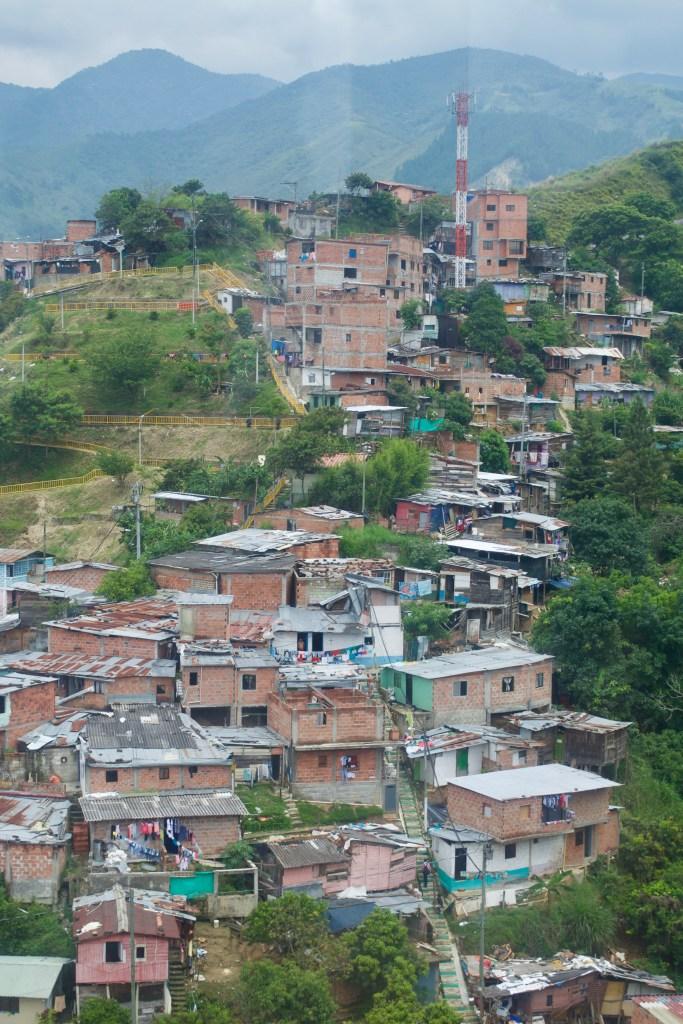 Comuna 13 - Medellin, Colombia Cable Cars