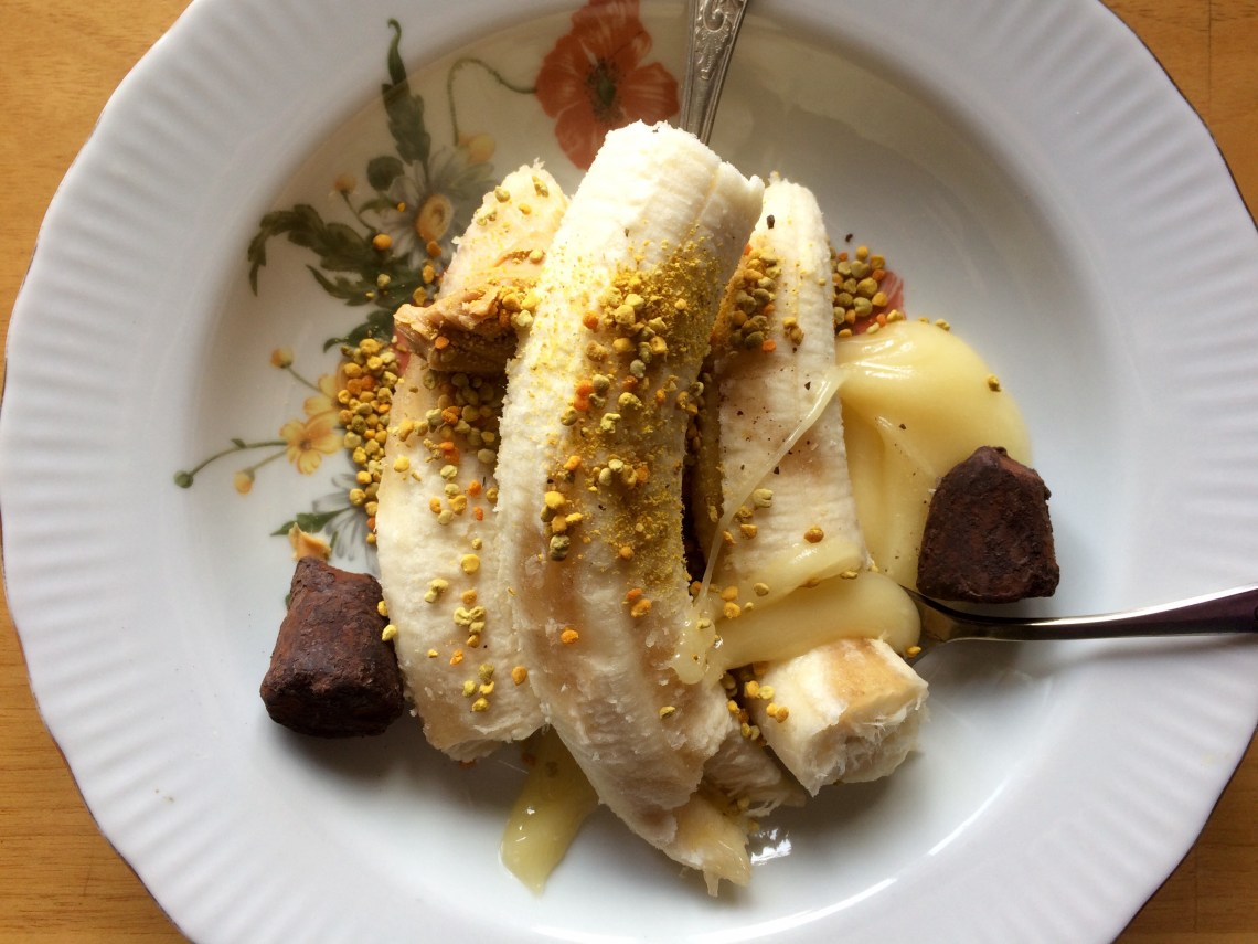 Banana & Bee Pollen - St. Petersburg, Russia
