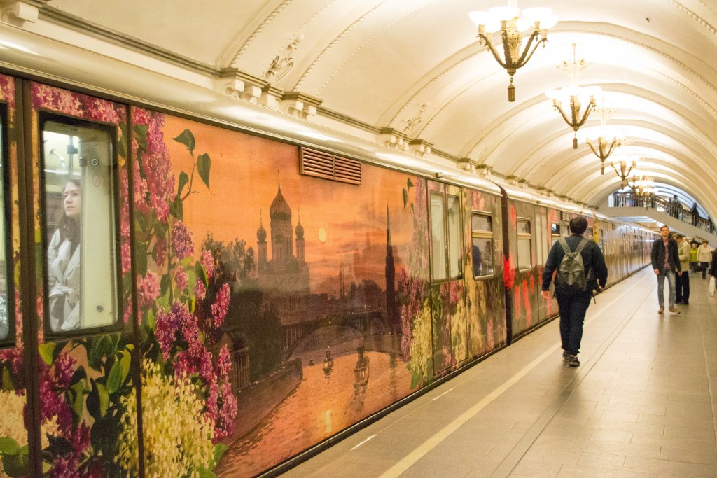 Moscow Metro - Russia