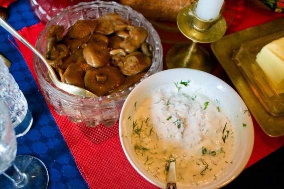 Mushrooms and Sour Cream
