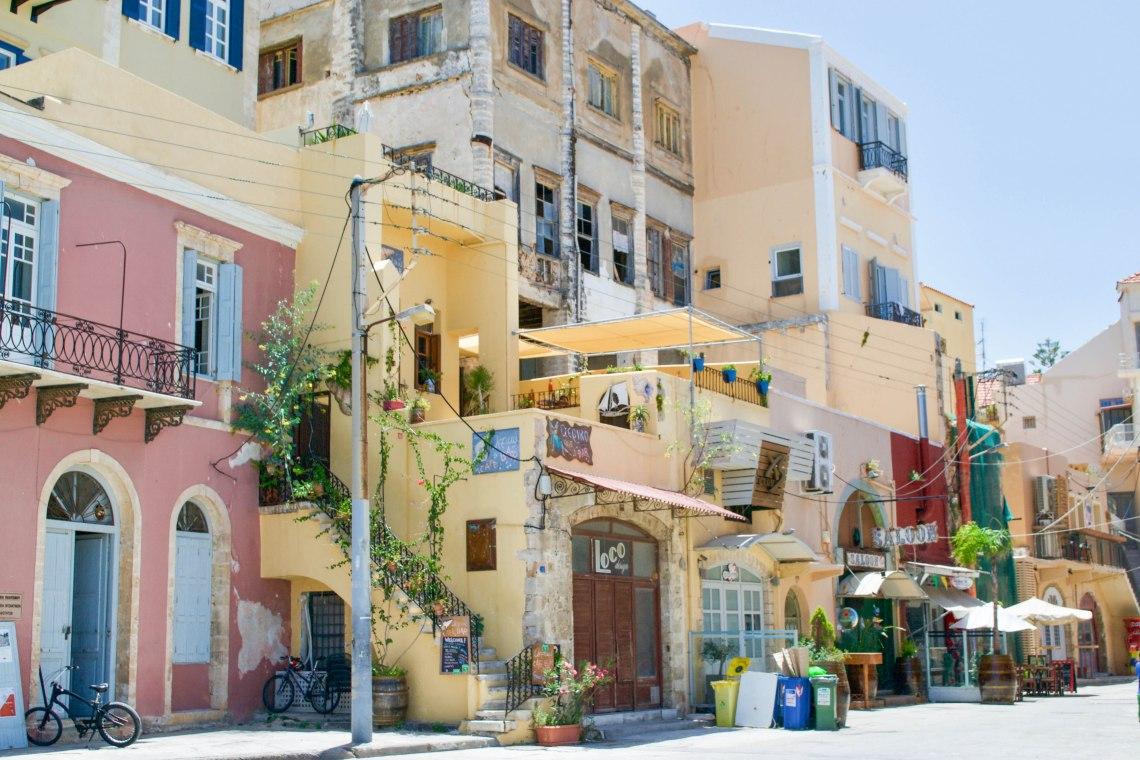 Chania Harbor - Crete, Greece