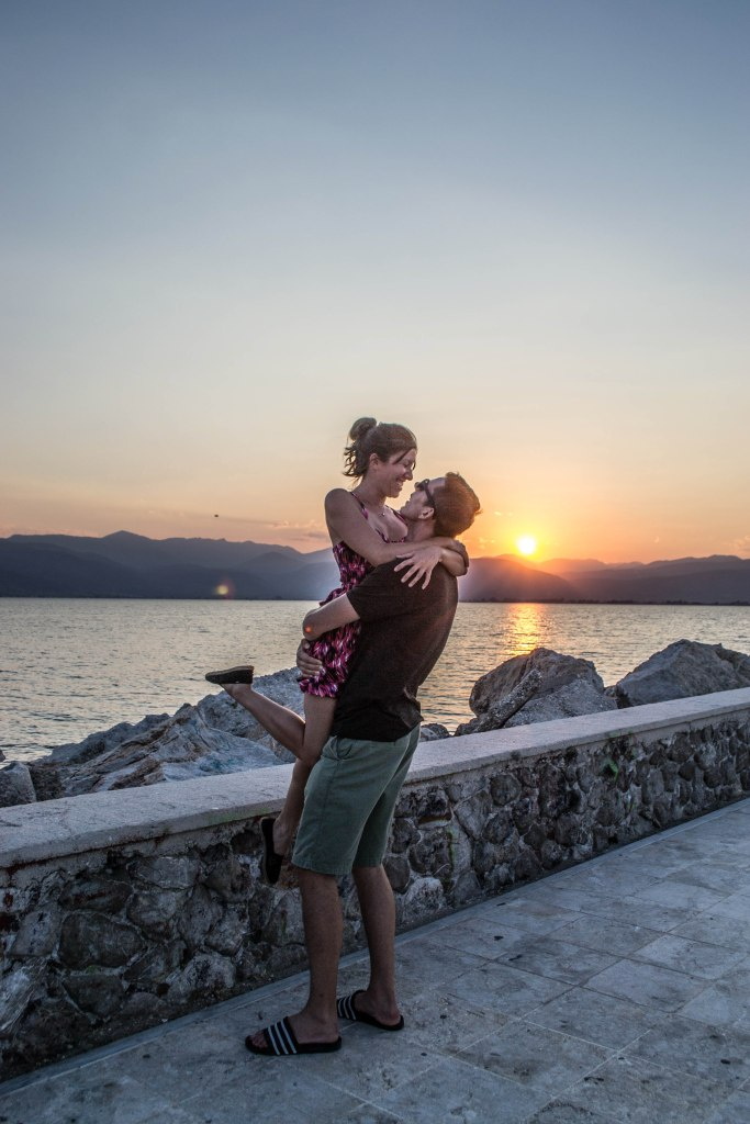 Sunset at Nafplio Harbor, Greece
