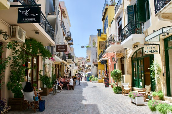 Downtown Chania - Crete Island
