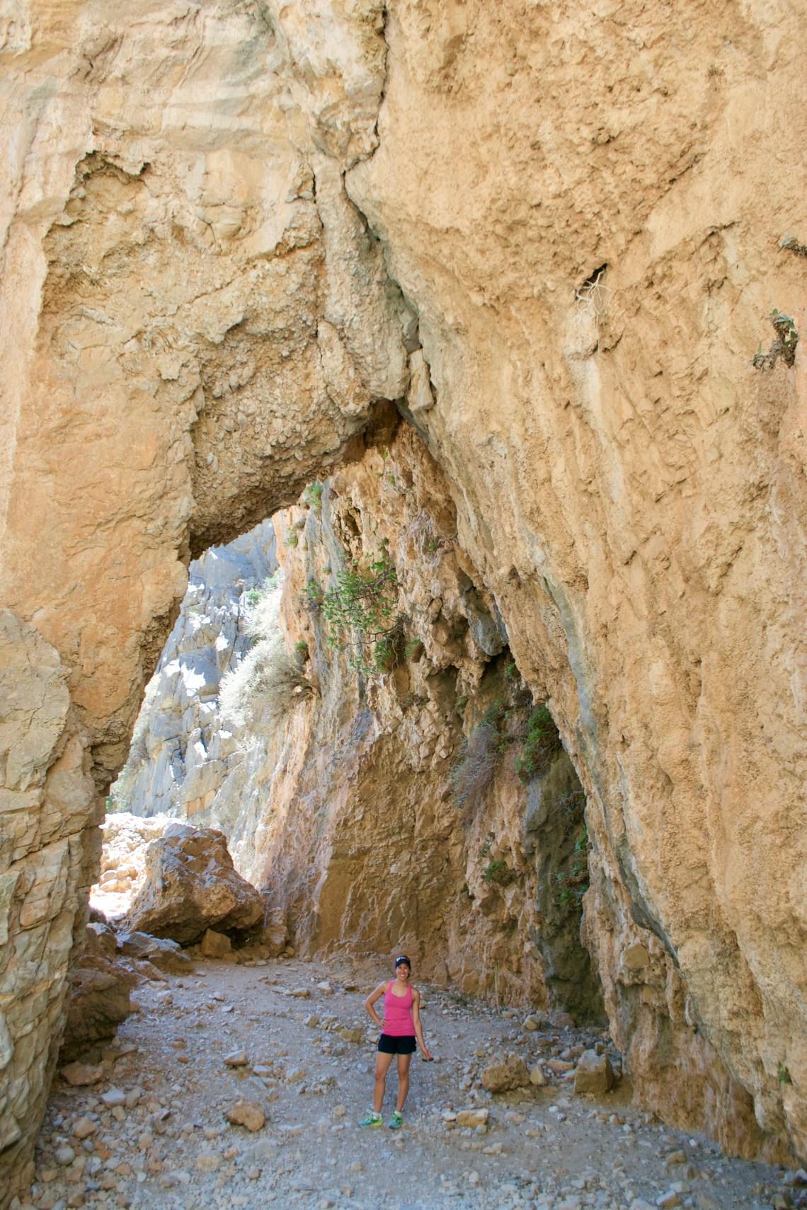 Imbros Gorge Hike, Crete, Greece