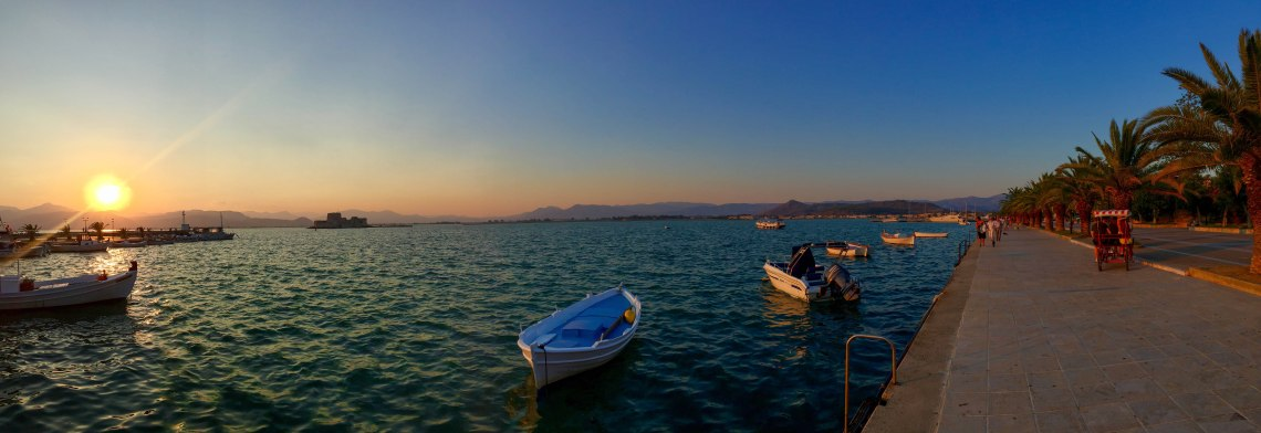 Nafplio Sunset Panorama