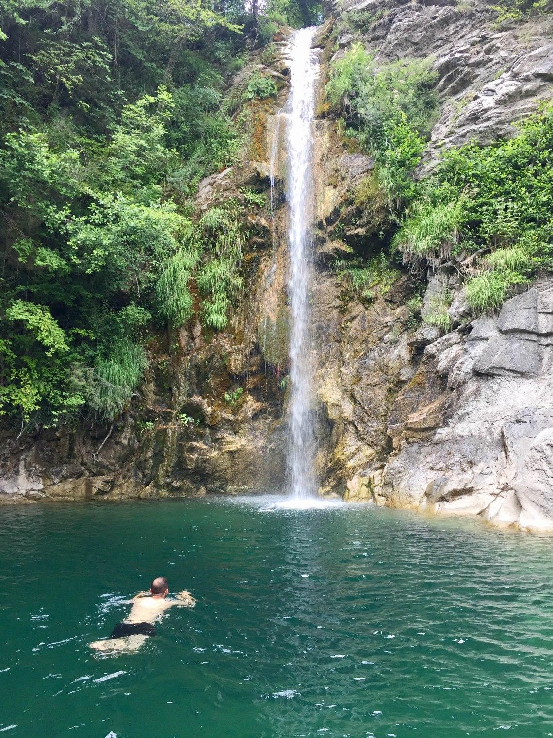 Iliochori Falls, Zagori, Greece