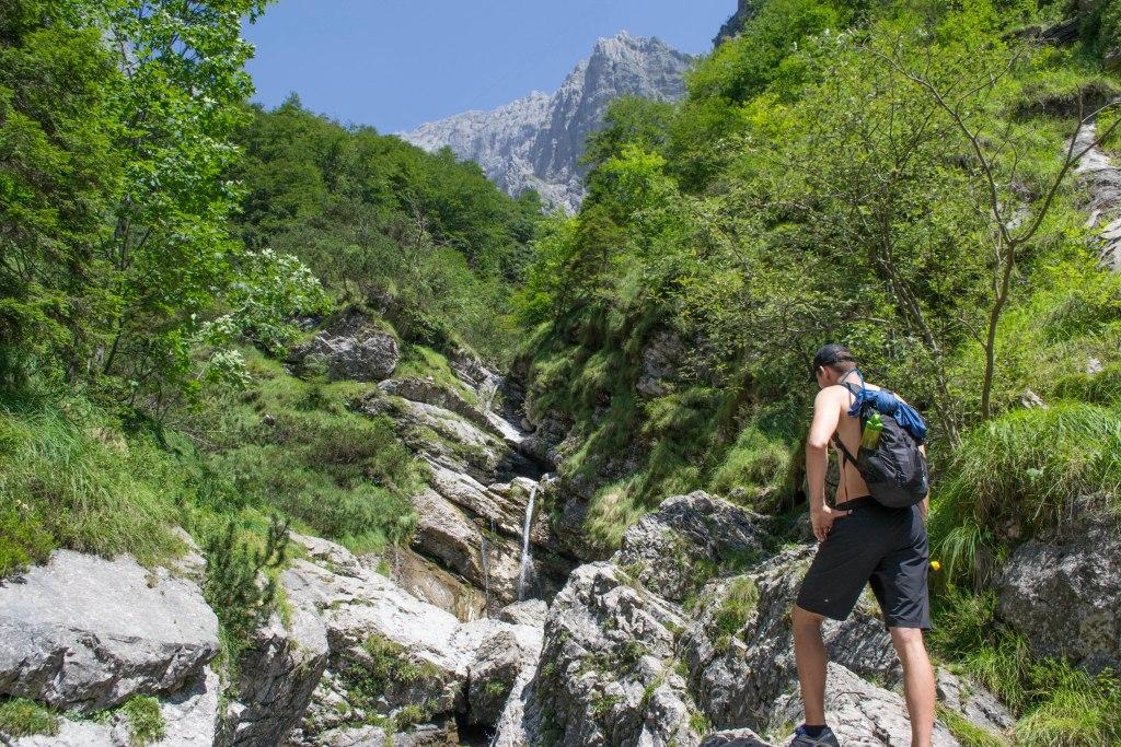 Rifugio Alpini 7 Hike, Dolomites, Italy
