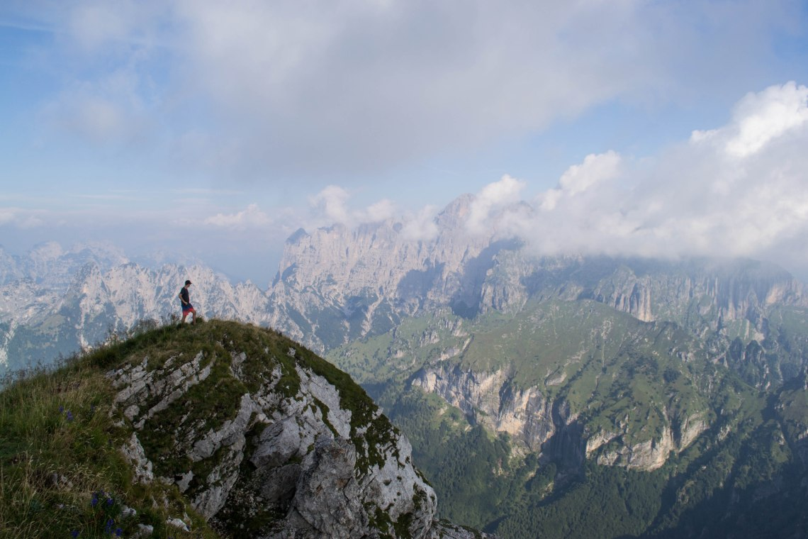 Monte Serva Hike, Dolomites, Italy
