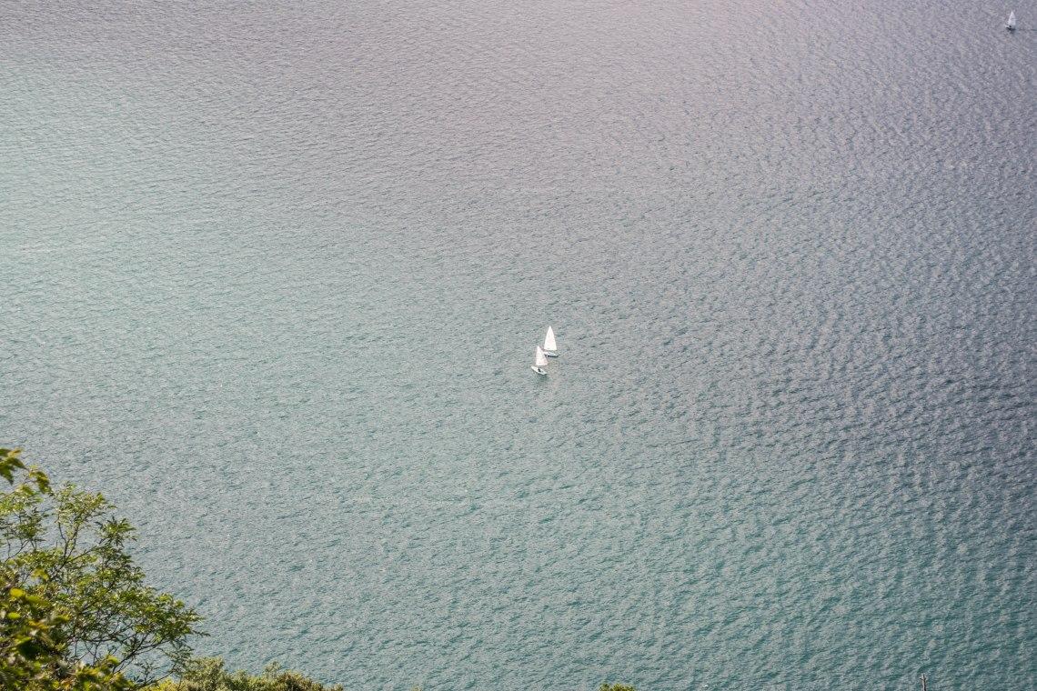 Sentiero Panoramico Busatte Tempesta - Lake Garda, Italy