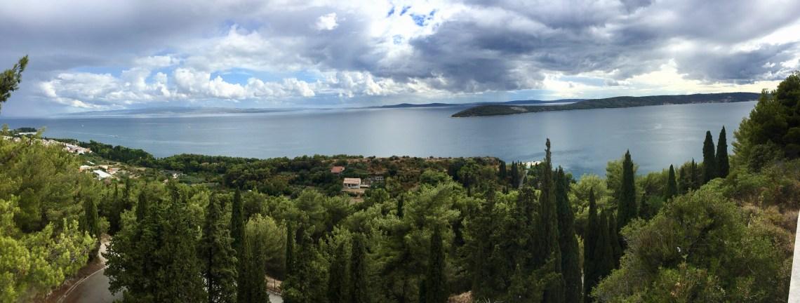 Marjan Park Panorama, Croatia