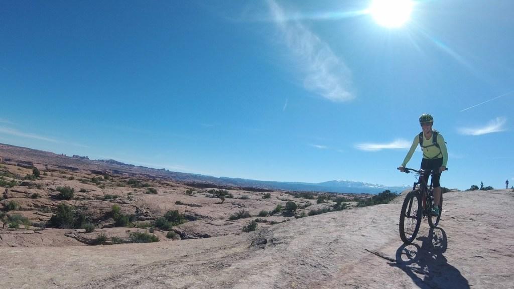 Slickrock Biking in Moab, Utah
