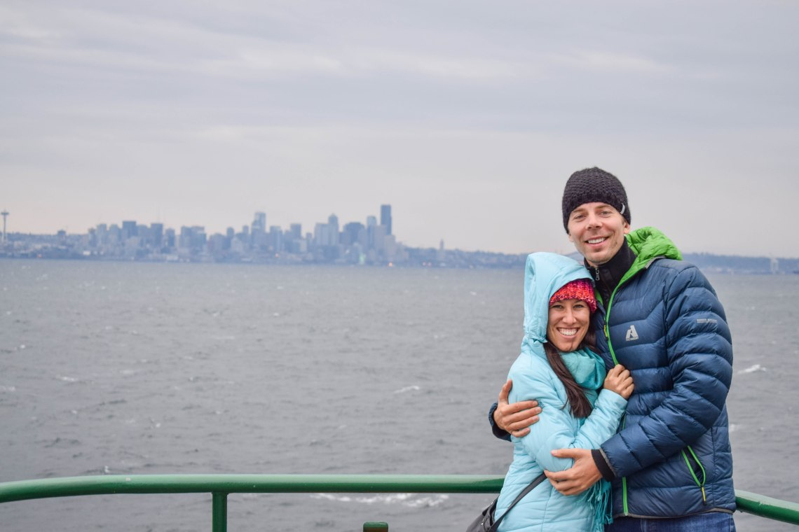 Bainbridge Island Ferry, Seattle, Washington