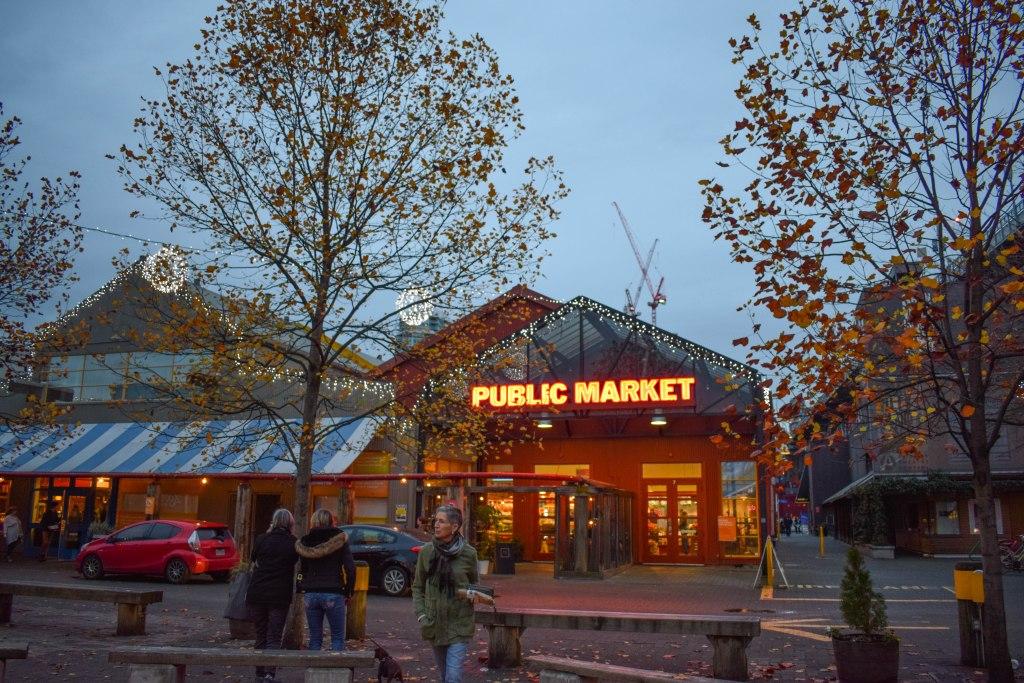 Granville Island Market - Vancouver, B.C. Canada