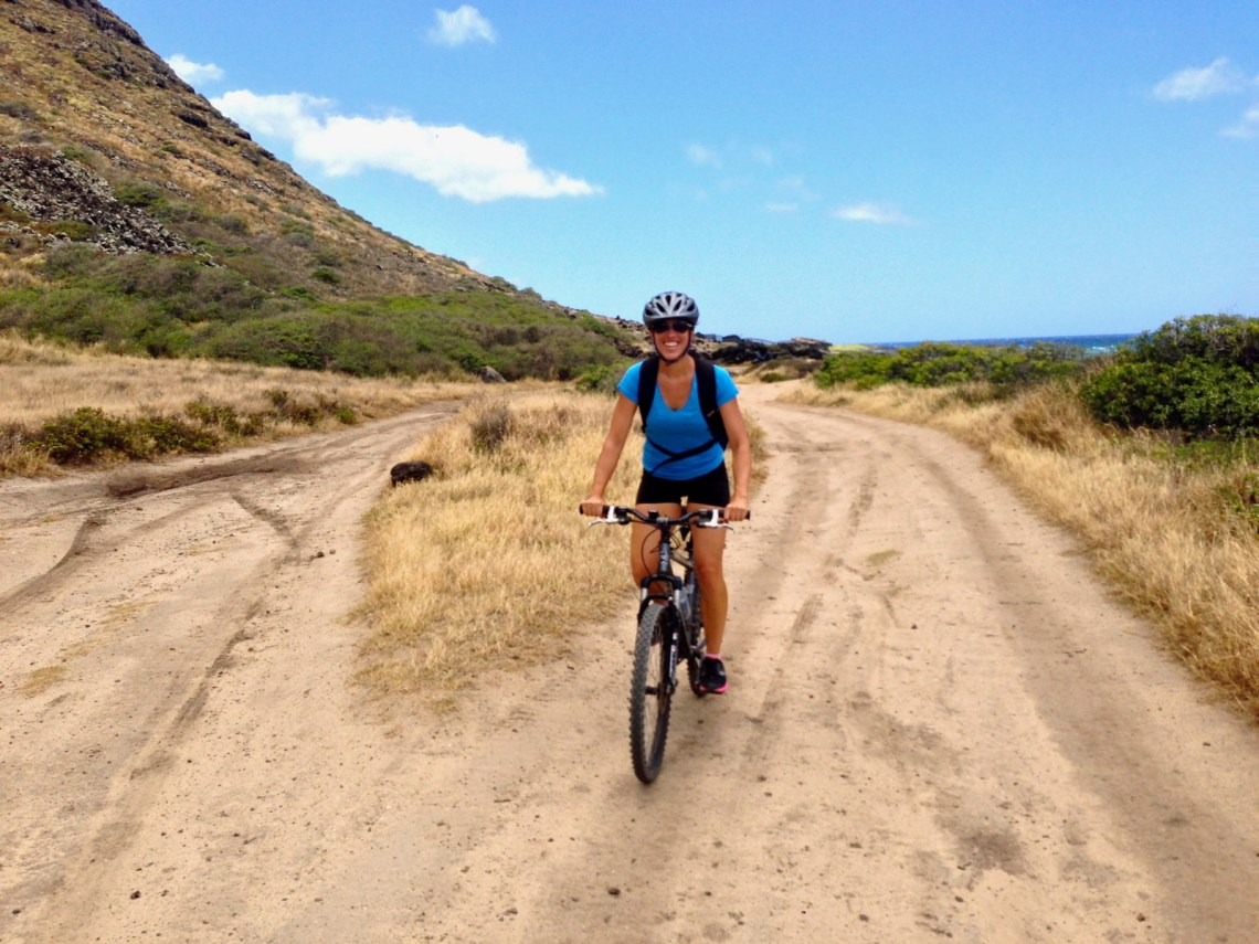Mountain Biking Kaena Point