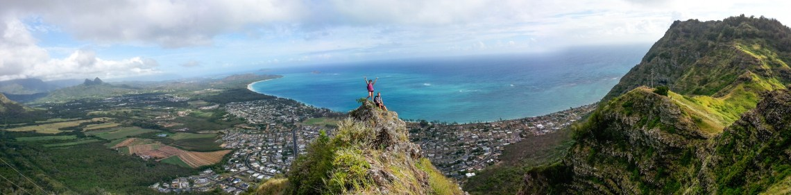 Deadman's Catwalk Hike, Oahu, Hawaii