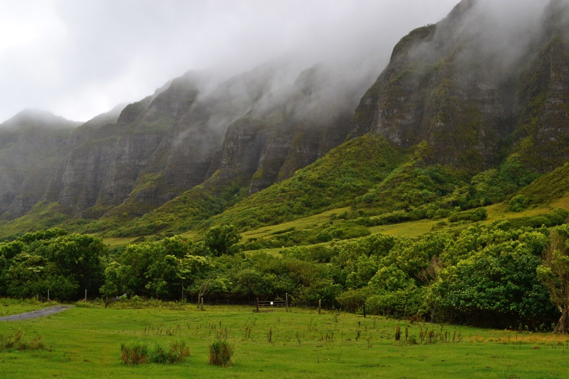 Kualoa Ranch, Oahu Hawaii