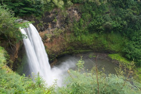 Rainbow Falls in Hilo, Big Island
