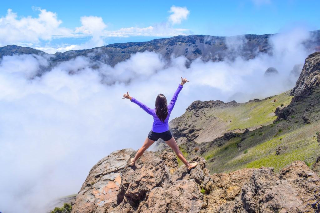Kalahaku Overlook, Red Hills; Haleakala National Park Summit, Maui