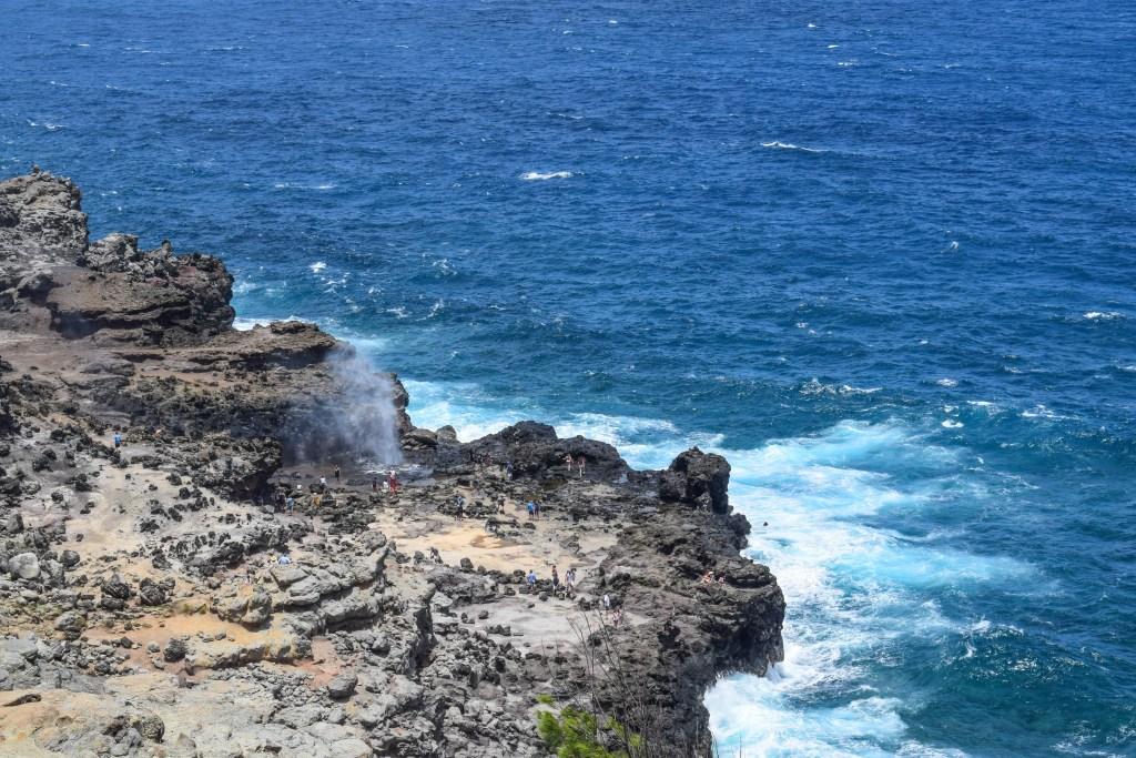 Nakone Blow Hole, Maui
