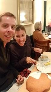 Wienerschnitzel at Figlmuller Cafe - Vienna, Austria