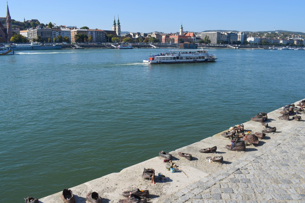 Shoes on the Danube River - Budapest, Hungary