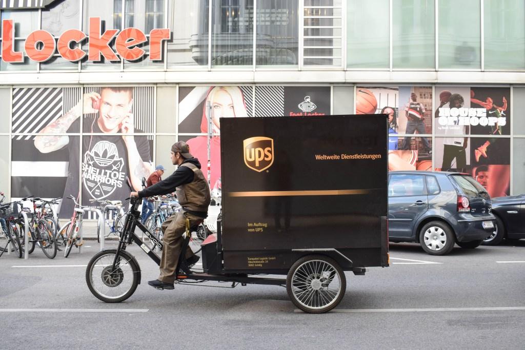 UPS bike - Vienna, Austria