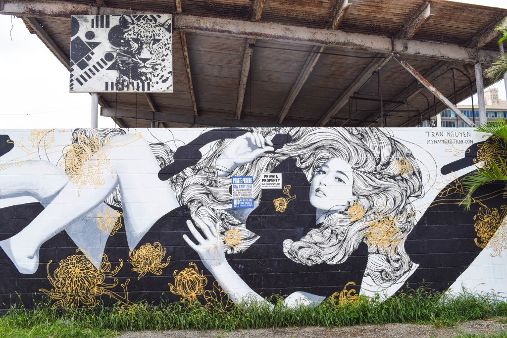 Kakaako Street Art, Oahu, Hawaii