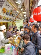 Nakamise Food Alley