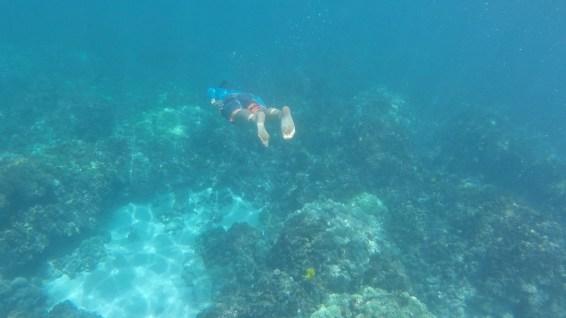 Sasha Underwater