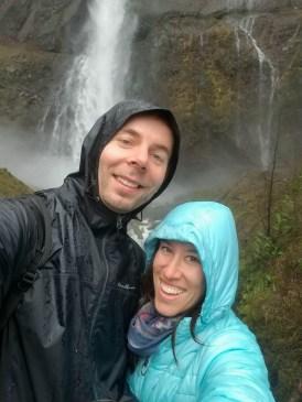 Multnomah Falls Selfie