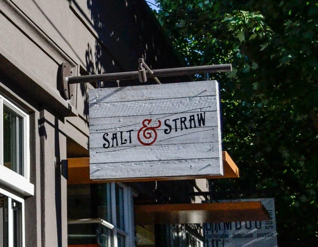 Salt & Straw Ice Cream - Portland, Oregon