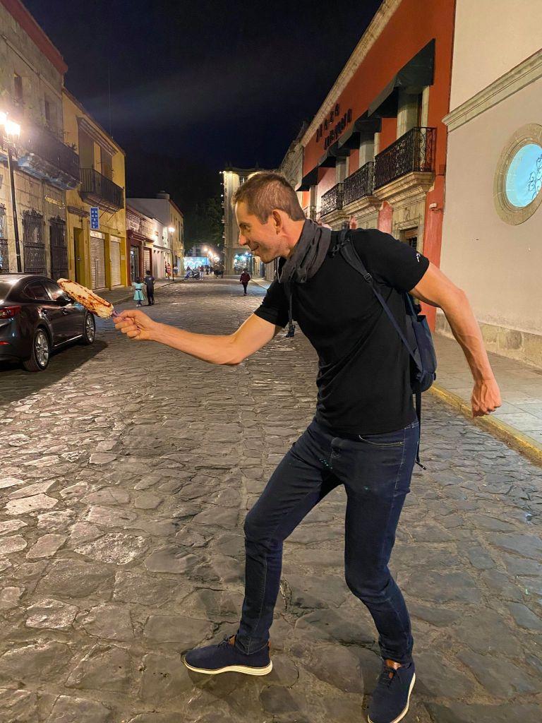 Oaxacan Street Corn Elote