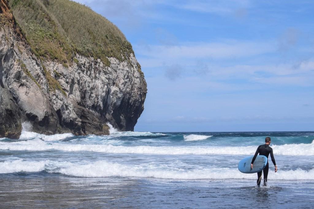 Santa Barbara Surfing, Sao Miguel Island, Azores