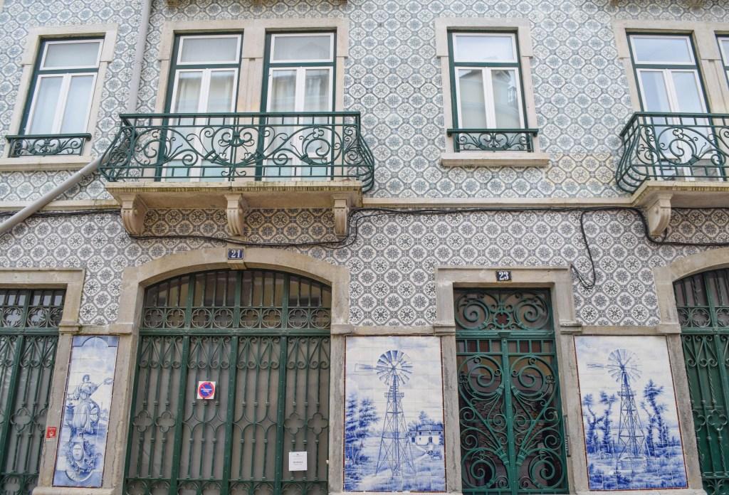Azulejos, Lisbon, Portugal