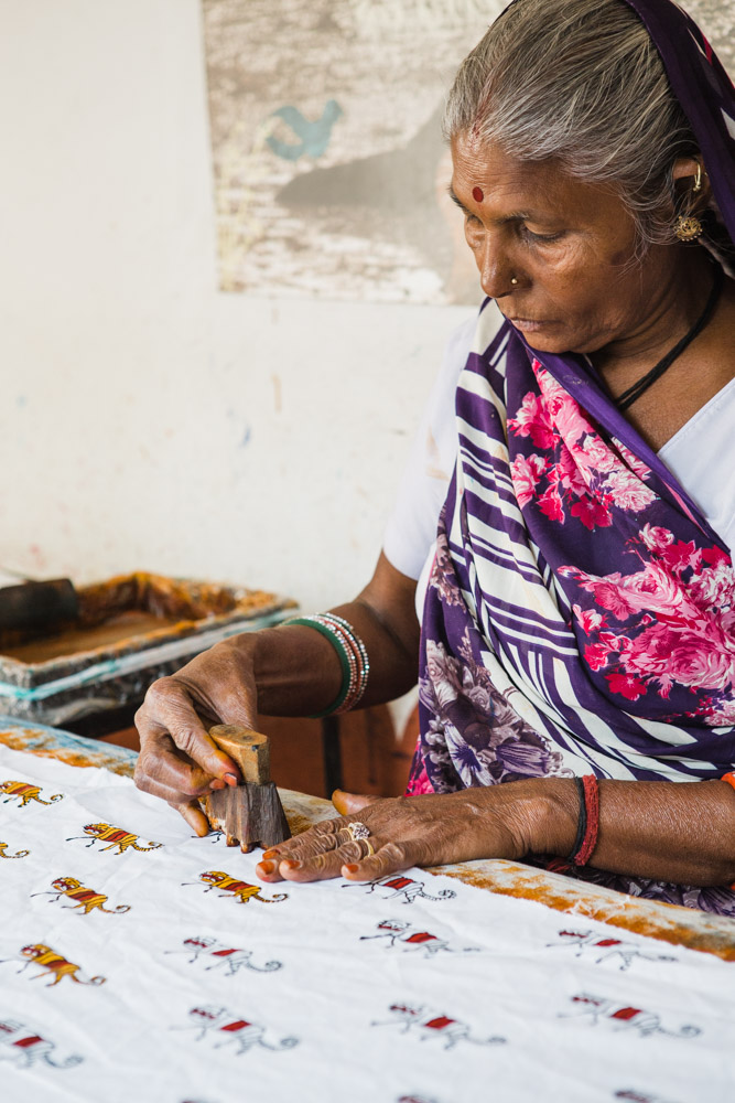 CulturallyOurs Block Printing Art From Rajasthan India