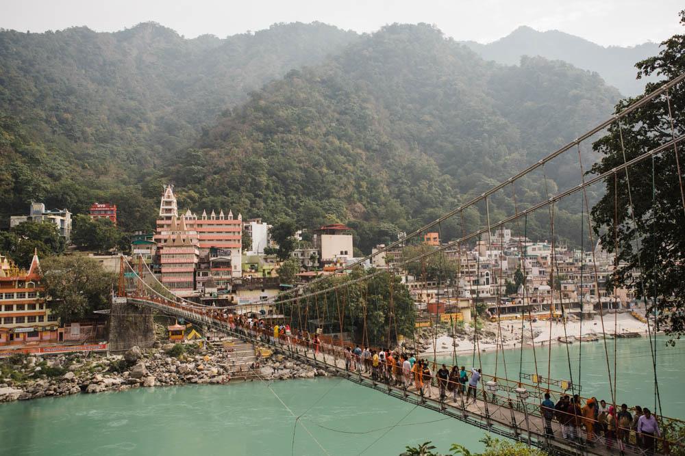 CulturallyOurs Travel Retreat To HImalayas RIshikesh India Famous Laxman Jhula