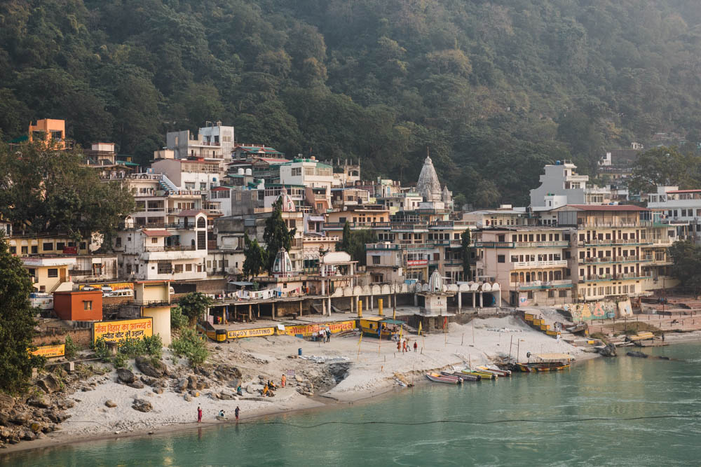 CulturallyOurs Travel Retreat To HImalayas RIshikesh India View From Laxman Jhula