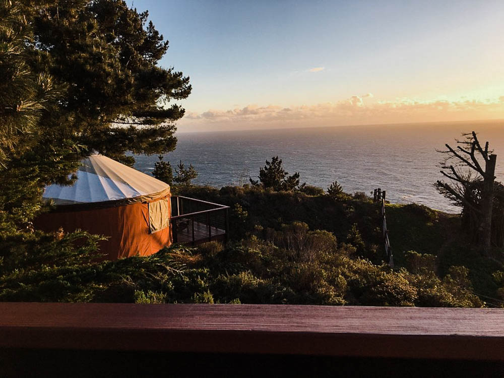 CulturallyOurs Luxury And Unique Glamping In The US - Treebones Resort Big Sur California