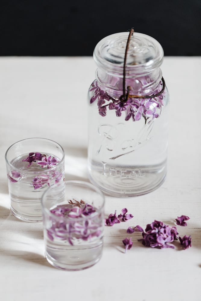 CulturallyOurs How to make Lilac Infused Water
