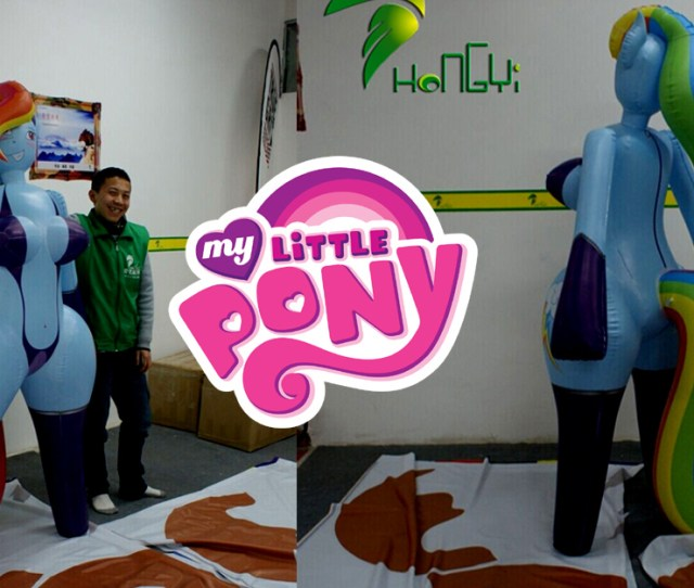 The New My Little Pony Inflatable Sex Doll Hit The Shelves The New