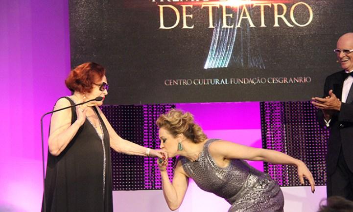 Duas damas de duas eras do Teatro brasileiro - Foto: Reginaldo Teixeira/ Divulgação
