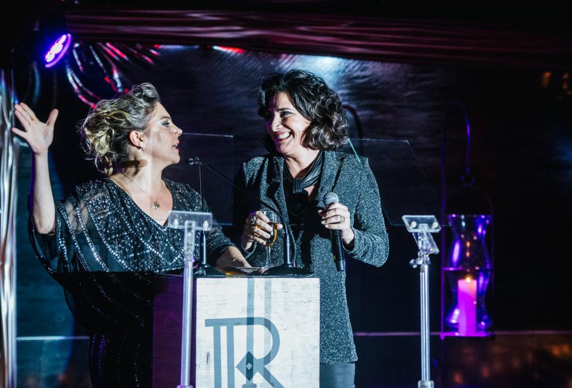Heloísa Perissé e Totia Meireles, na primeira edição do Prêmio, em 2015 no Rio de Janeiro. Foto: Paula Guimarães/ Divulgação