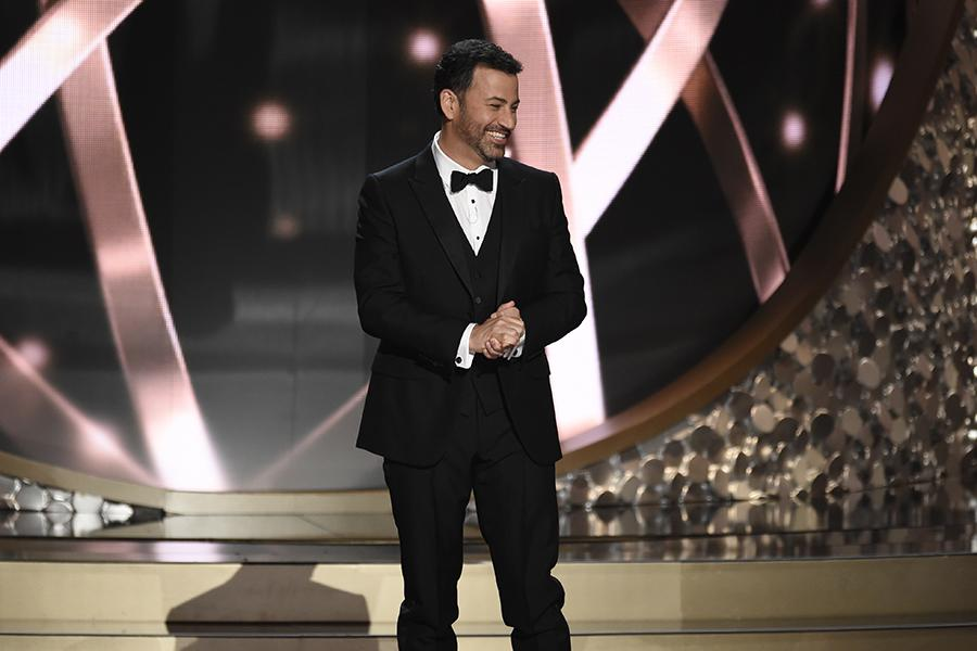Jimmel Kimmel, apresentador do Emmy Awards 2016. Foto: Invision/AP
