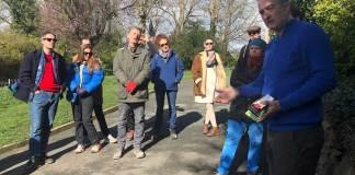 Charles Holland Explorers Walk Fort Burgoyne