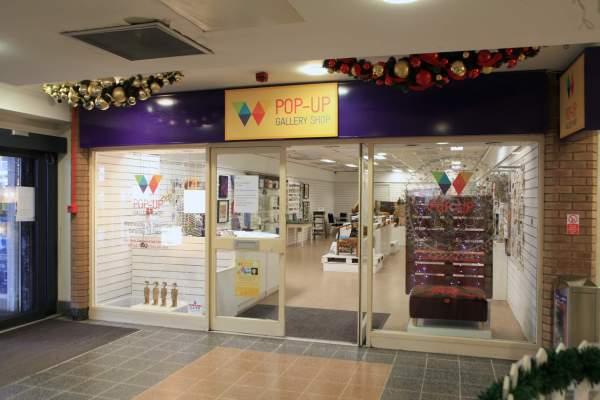 Christmas Pop Up Shop Displays