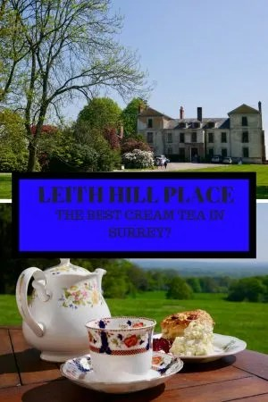 LEITH HILL PLACE Best cream tea