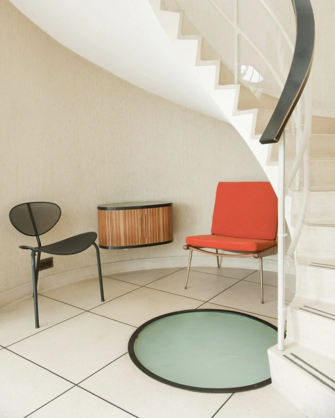 spiral staircase, The Homewood