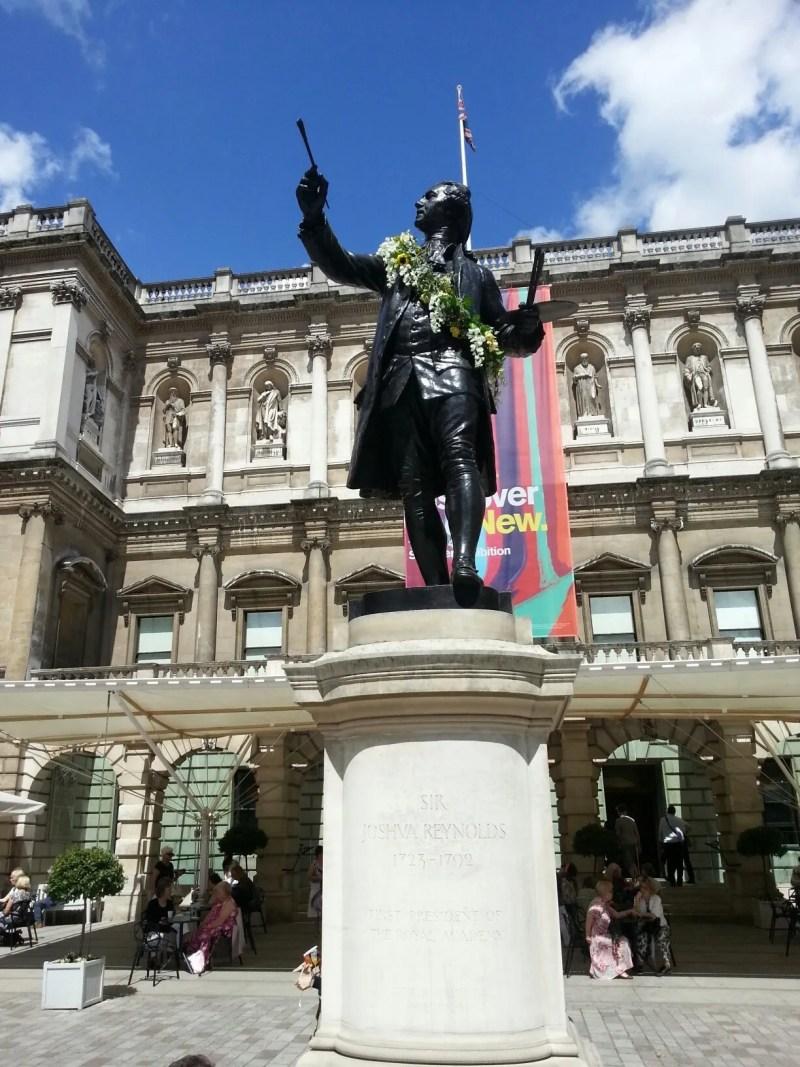 Sir Joshua Reynolds dressed Summer Exhibition
