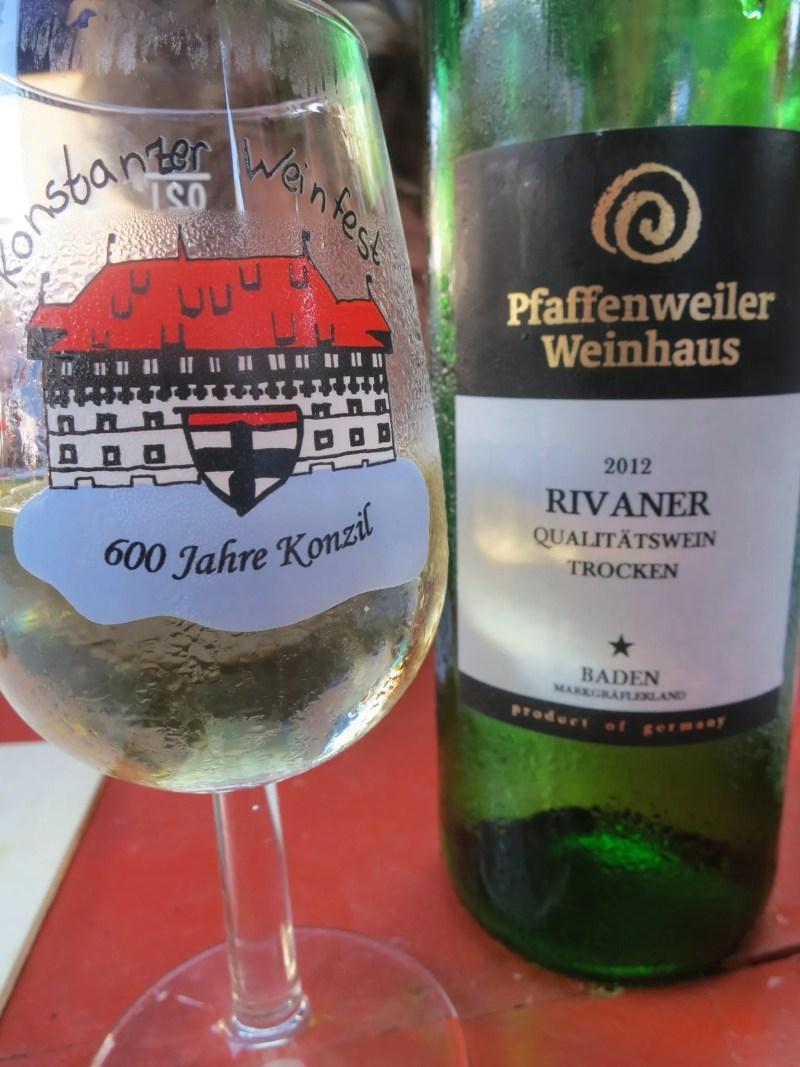 Wine festival glass